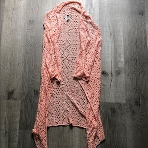 Pink Cardigan - Francesca's - Size Small